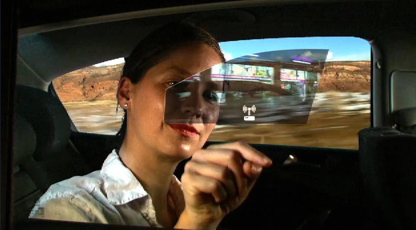 realidad aumentada en el coche